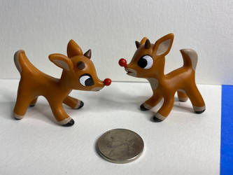 A Couple Rudolph the Red Nosed Reindeers!