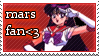 Sailor Mars stamp by beccerberry