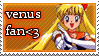 Sailor Venus stamp by beccerberry