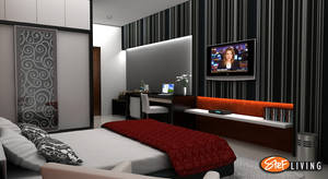 Bedroom Apartment Metropolis