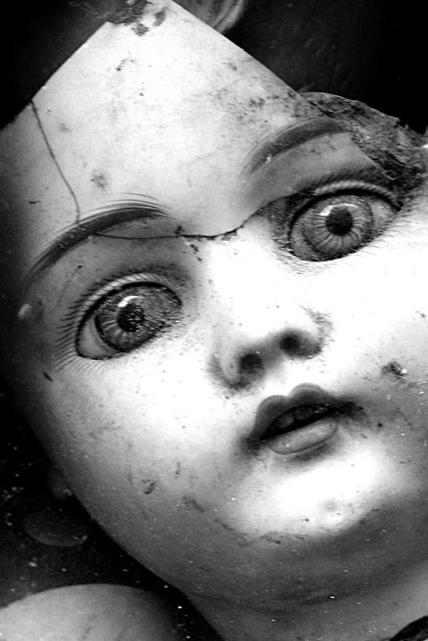 Broken doll by spacedlaw on DeviantArt