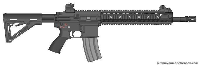 16 Inch LaRue Tactical PredatAR 5.56 by EnkiduTheRevelator ...