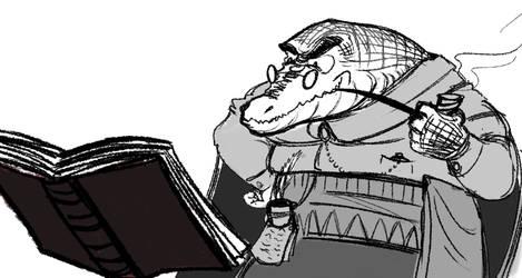 Croc wizard by mitakis