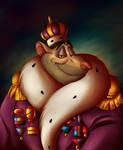 King Padraic Ratigan I (Speedpaint) by SilverWolf866