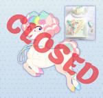 MLP - Rainbow Pastel Cake Aesthetic Adopt (CLOSED)