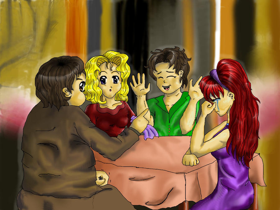 Spanking double date disaster 7