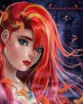 Lavinia the Avox - Hunger Games by MirRoriel
