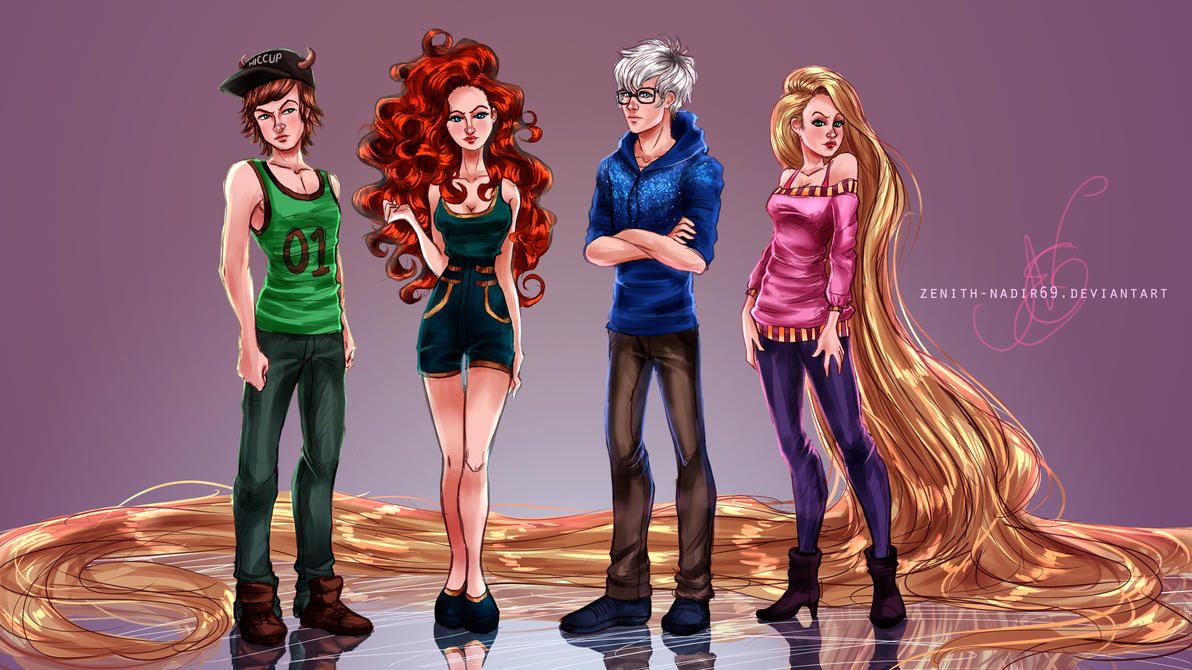The Hipster Big Four by MirRoriel