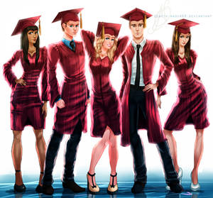 Mystic Falls Graduates