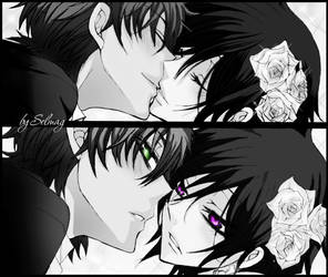 Lelouch and Suzaku by MSelmag
