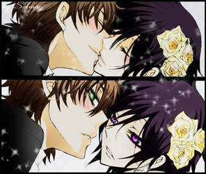 Lelouch and Suzaku 1 by MSelmag