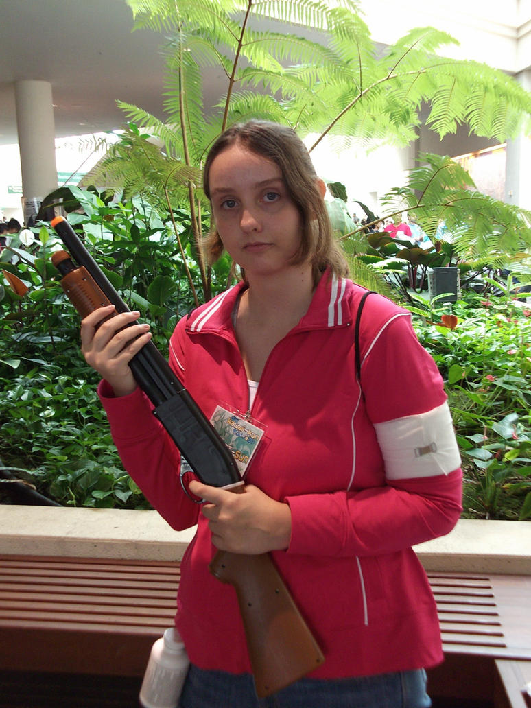Zoey Cosplay Left 4 Dead by j3nNj3nNy on DeviantArt