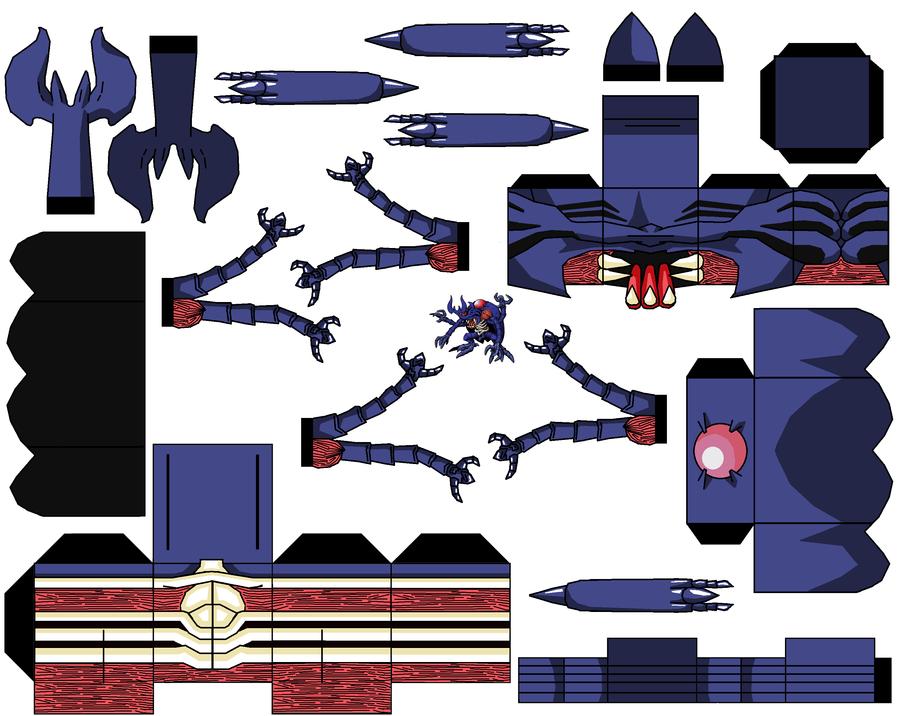 blue Megakabuterimon by hollowkingking