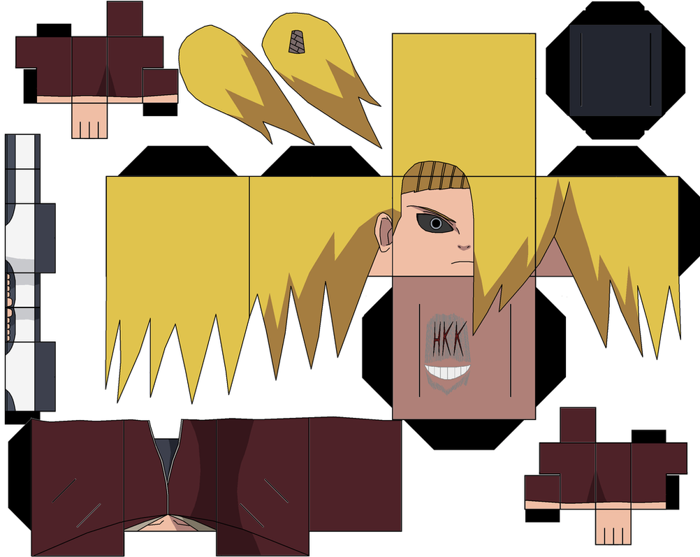 deidara by hollowkingking