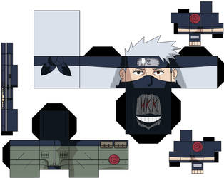 kakashi by hollowkingking