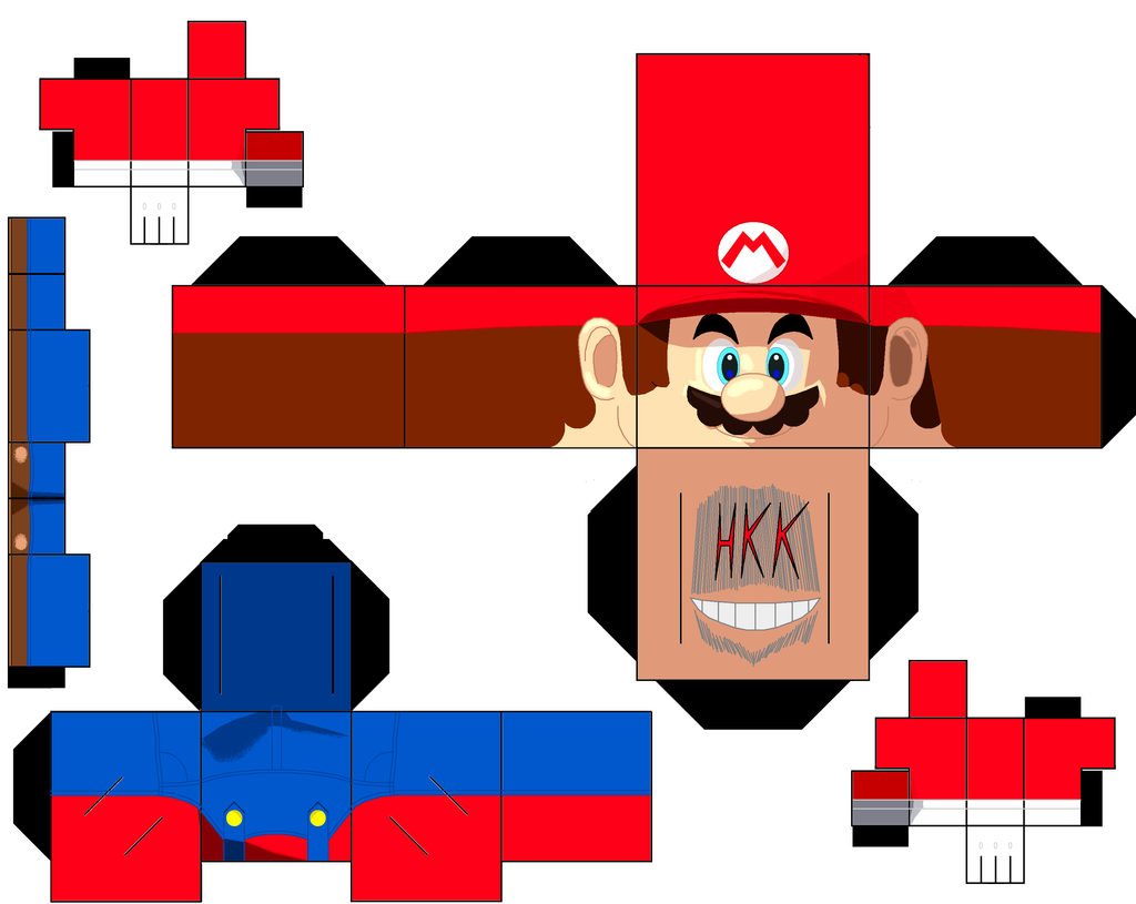 mario by hollowkingking