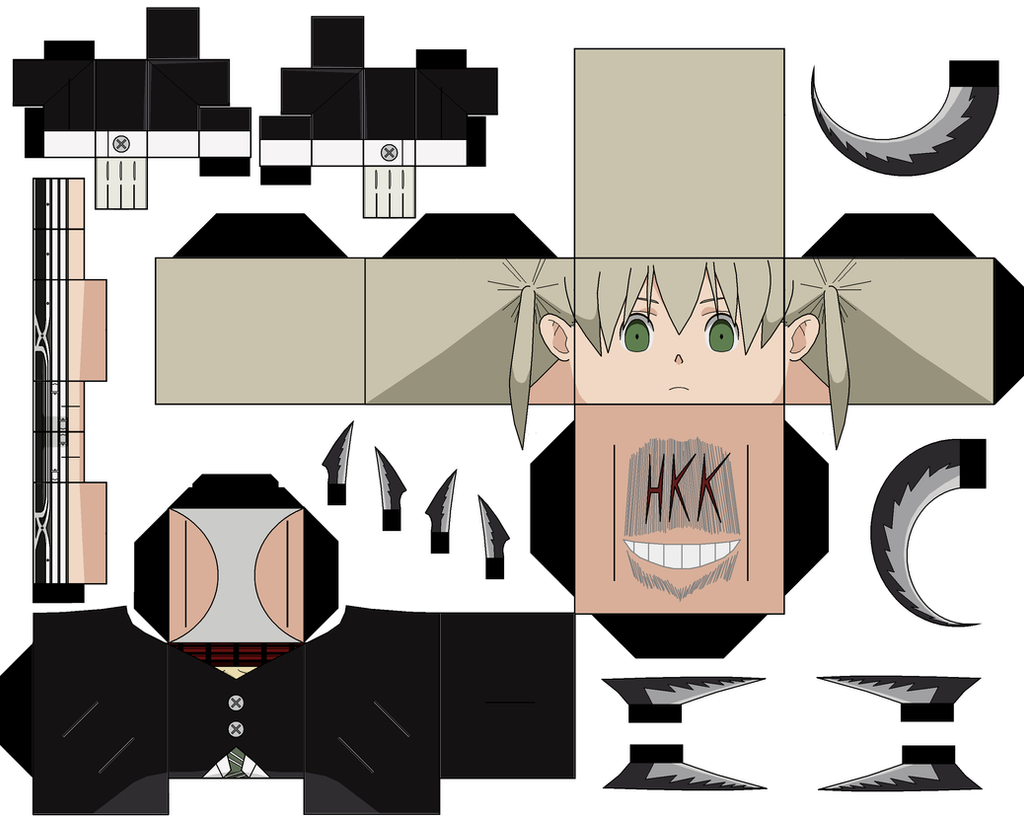 Weapon Form maka by hollowkingking on DeviantArt