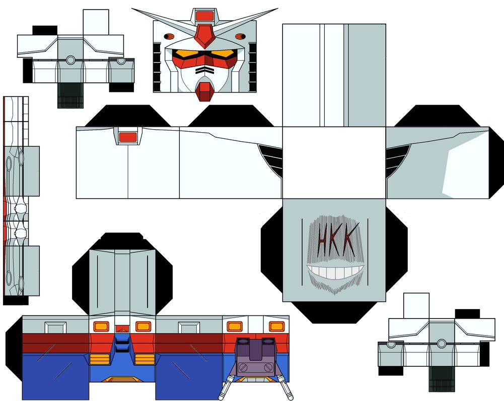 K Bee Toys RX-78-2 Gundam cubeecr...