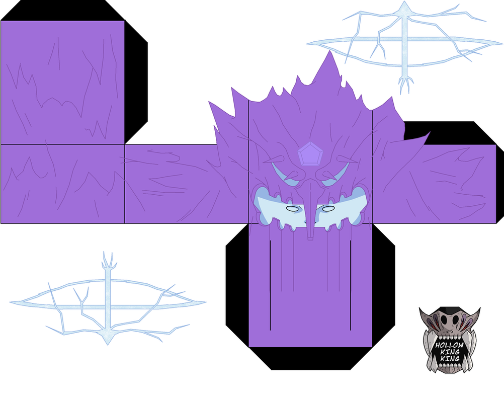 tailed beast Susanoo p1 colored edition by hollowkingking