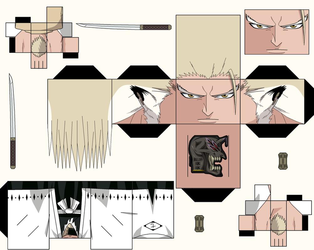 Sajin Komamura human form Brave Souls by hollowkingking on DeviantArt