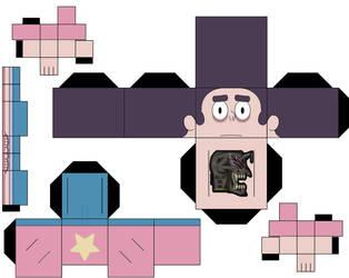Steven Universe Human-Half by hollowkingking