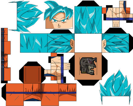 Goku ssjb DBS Manga