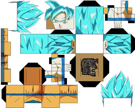 Goku ssjb Aura DBS Manga