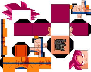 Goku ssjg DBS Manga