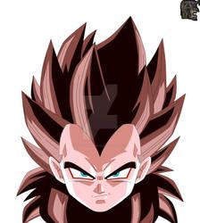 Super Full Power Saiyan 4 Vegeta