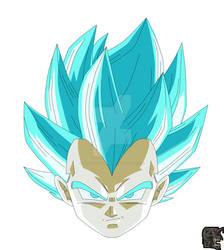 Super Saiyan Blue Rage Empowerment Vegeta