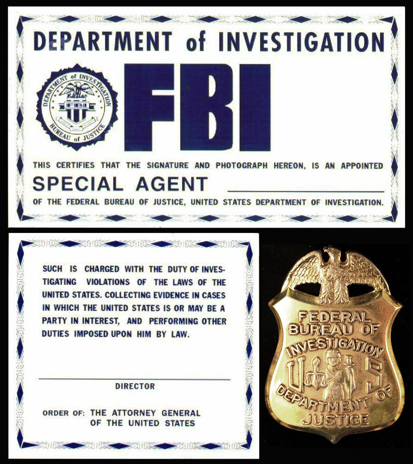 F.B.I. ID From The X-Files - Template 1 By Juan8T88 On ...