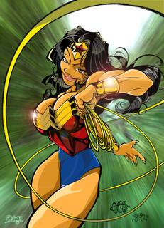 Wonder Woman by PhillipQHudson