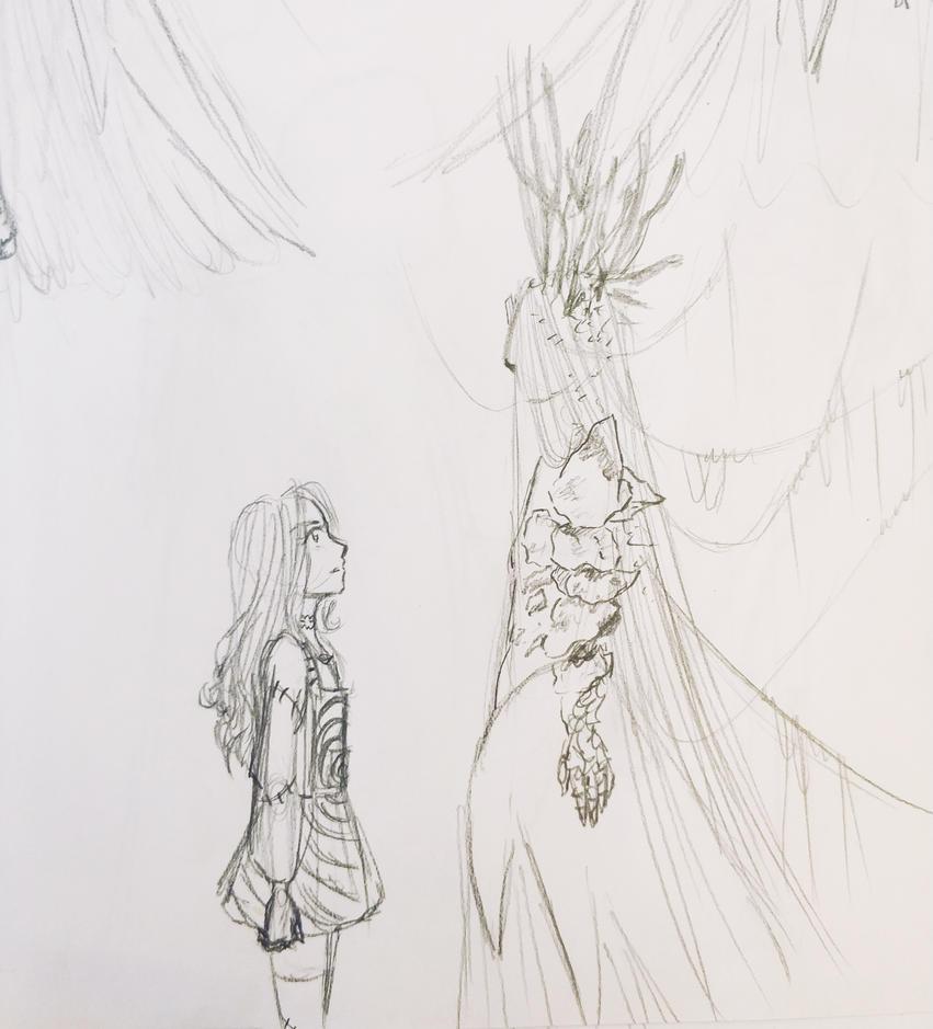 Rough sketch by AniNN-chi