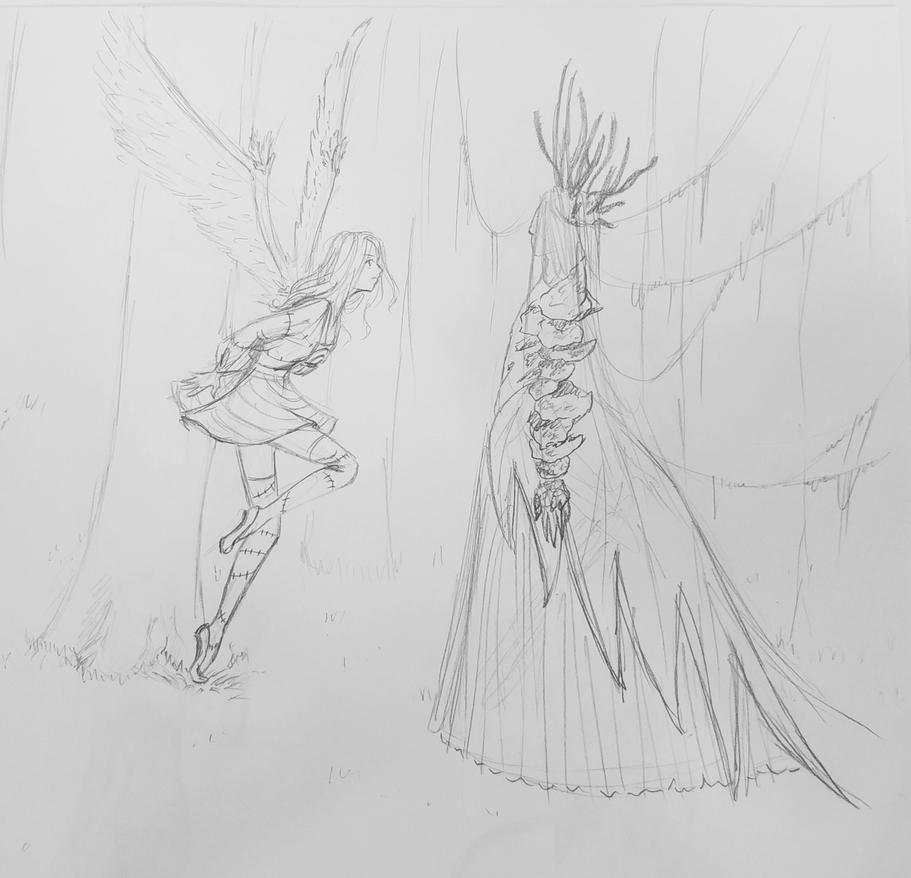 encounter sketch by AniNN-chi