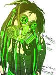 Cyber-Goth Green
