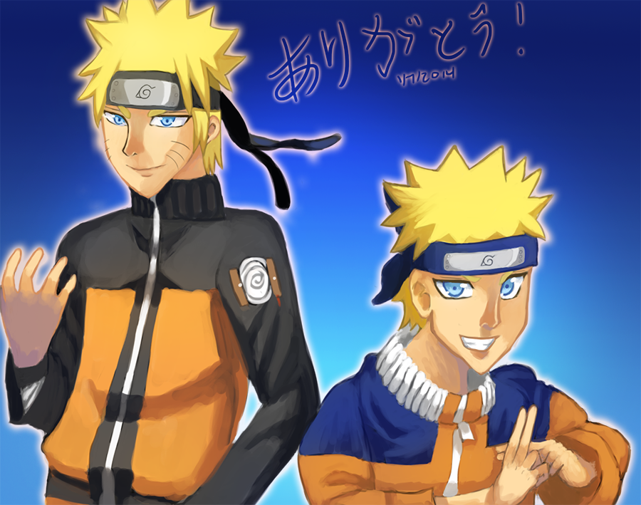 Naruto 15th Year Thanks by Whitewolfgirl