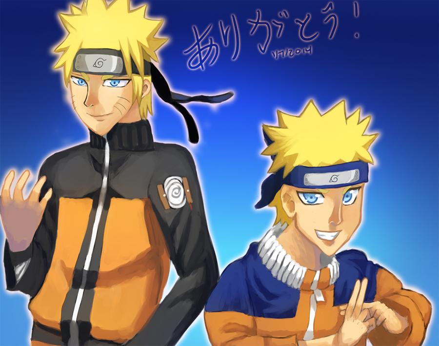Naruto 15th Year Thanks by Whitewolfgirl