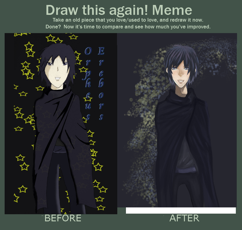 Draw this again! Meme by Whitewolfgirl