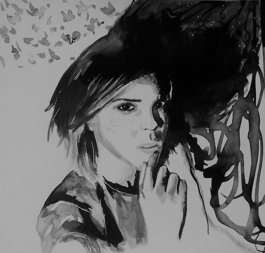Emma Watson by Whitewolfgirl
