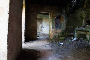 Abandoned House Interior Stock 2 by SSyn-Stock