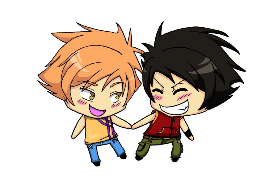 Hikaru and Kaoru by Lilixilon on DeviantArt  Hikaru and Kaor...