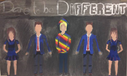 #Dare to be Different by Tabbie1999