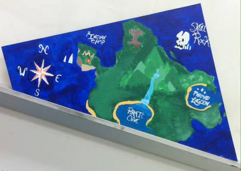 #Map of Neverland - Peter Pan