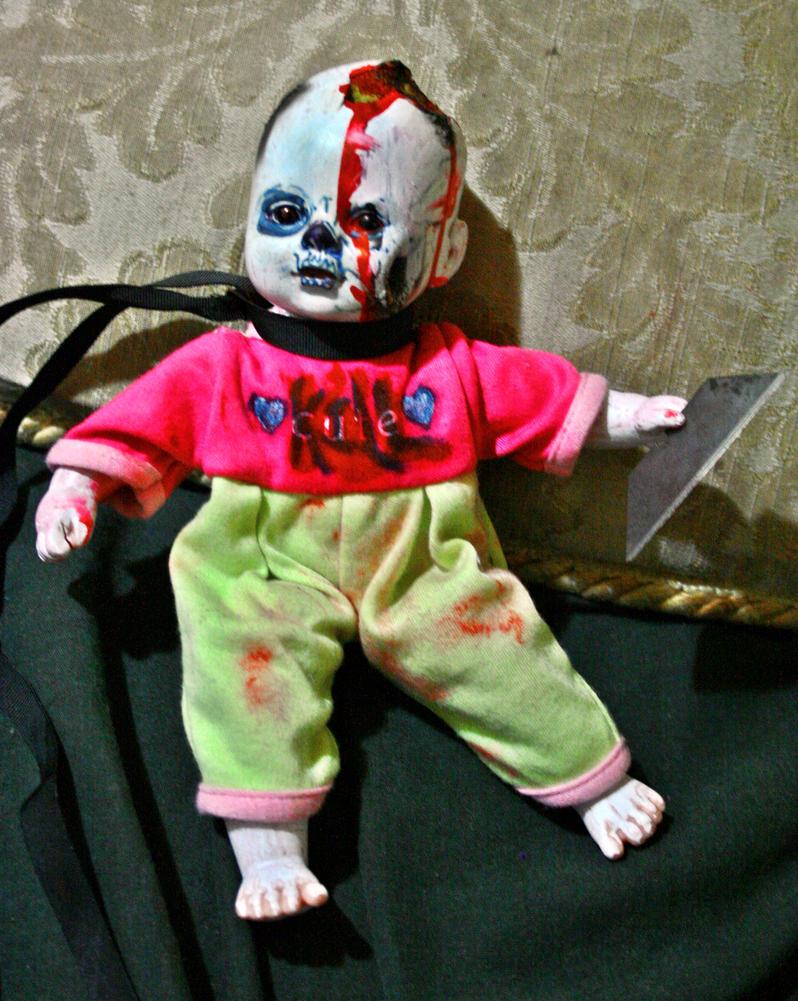 zombie baby doll by pazuzucult on deviantart