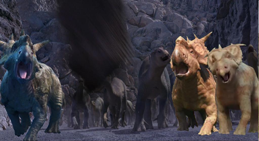 Aladar A Brave Iguanodon
