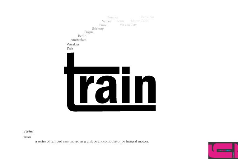 Expressive Typography Train By Waterfirefly On Deviantart