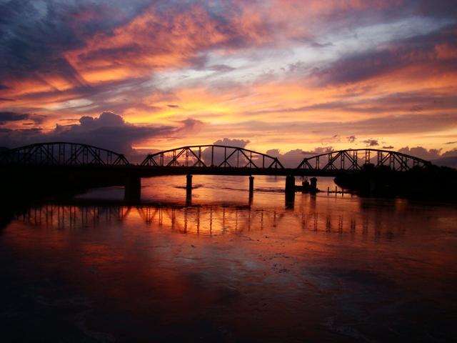 Sunset Bridge by SniperOfSiberia
