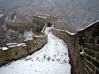 Great Wall at Mu Tian Yu by SniperOfSiberia