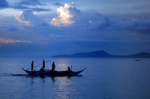 Blue Fishing by SniperOfSiberia