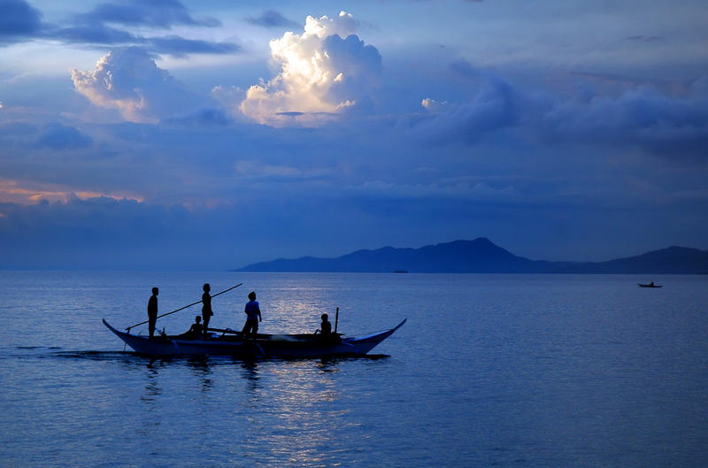 Blue Fishing